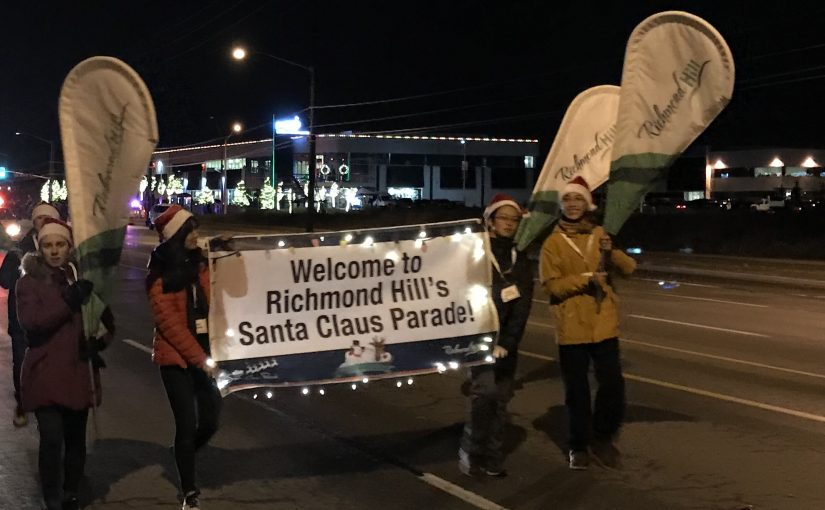 Richmond Hill's Santa Clause Parade!